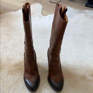 Gucci Cowboy boots size 6.5